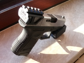 Glock 17 / 27 top rail adapter [Light Version]
