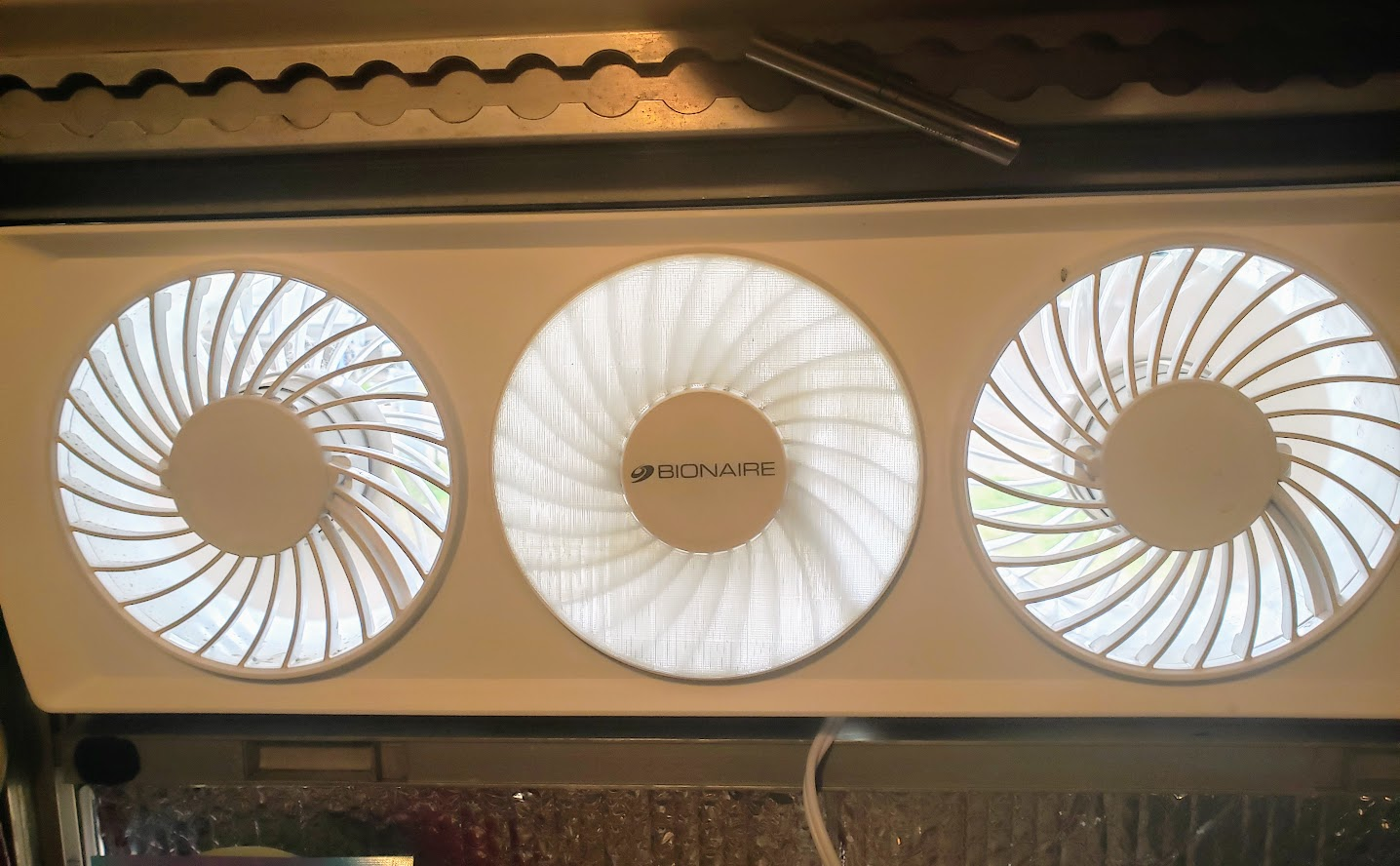 Bionaire / Holmes Window Fan Snap-in Covers
