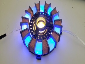 Iron Man Arc Reactor Remix