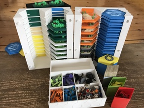 Multicolor 5-6 Player storage for Settler 2.0