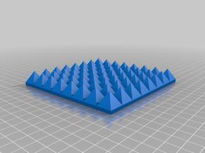 Miniature Painting Pyramid Tile