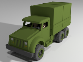 1/18 Scale Military Transport Truck