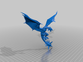 mace tail wyvern - dnd - monster