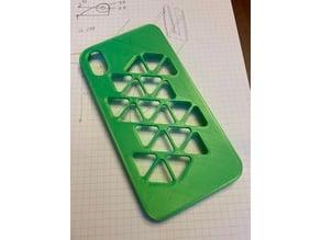 iPhone XR bumper case - Triangle design (Remix)