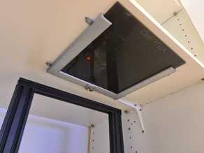 Ender 3 Pro Glass Bed Ceiling Storage