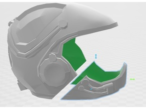Battlestar Galactcia Viper Helmet New Style