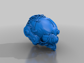 skull servitor - cosplay scale - trophy