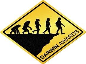 Darwin Award Sign