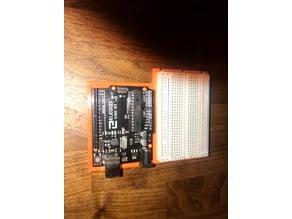 Arduino Uno R3 & 400 Point Bread Board Base
