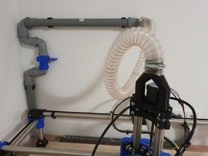 MPCNC vacuum setup for z-axis (makita/katsu)