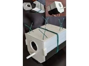 Birdhouse for Budgies (modular design for easy printing)
