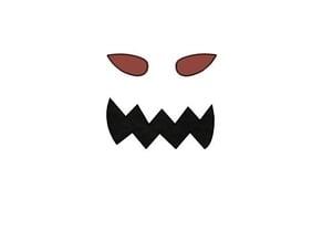 Mr. Pumpkin Head/Jack O Lantern/Scary Pumpkin Face/Kids Halloween Craft