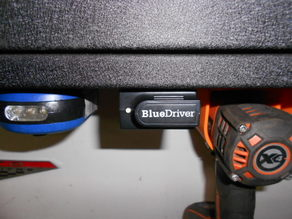 OBDII Scanner Under Cabinet Mount