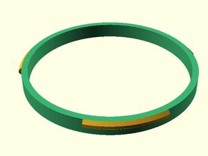 Customizable Bayonet Ring