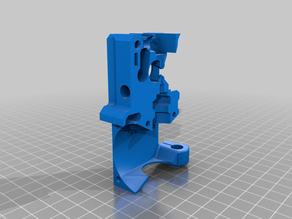 I3 MK3 and MK3S extruder for flexible materials