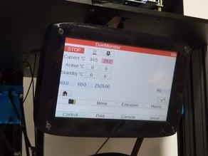 TEVO Little Monster 7'' PanelDue V3 Touch Screen Housing