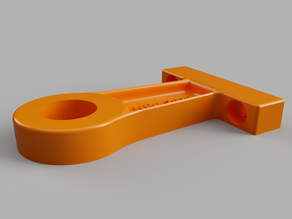 15mm (1/2 inch) pipe support bracket - 50mm offset