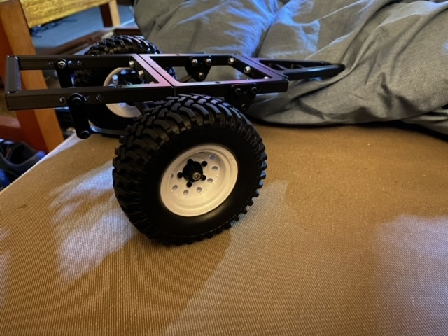 3DSets Printed wheel adaptor for RC trailer