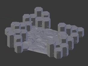 Basalt Terrain Base 1