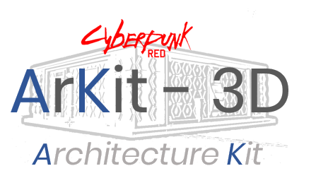 ARKIT - 3D - Cyberpunk Kit