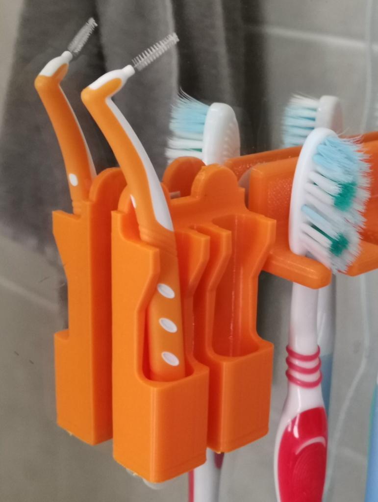 Interdental brush holder