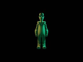 Walter White aka Heisenberg Figurine