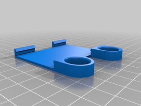 tirador axis Y i3 mega anycubic bed pull