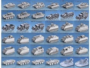 1-100 Modern Tanks and Vehicles