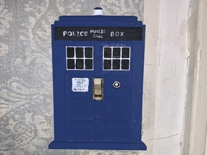 Tardis Light Switch Panel