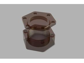 M40 screw type 30mm coin holder / coin case