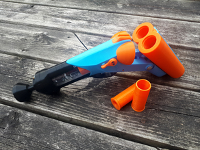 Foam A Nature - Nerf Double Barrel Shotgun