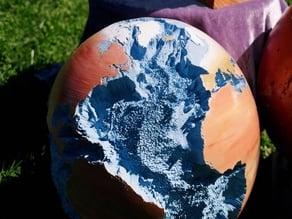 Seafloor Globe 150x