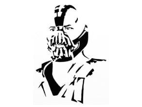 Bane stencil 3
