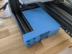 Electronics enclosure for skr-board on ender 3