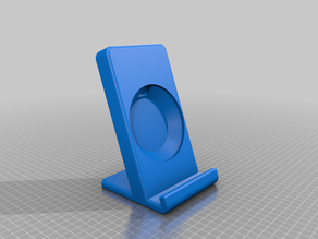 Phone stand for big phones and Samsung QI wireless charger