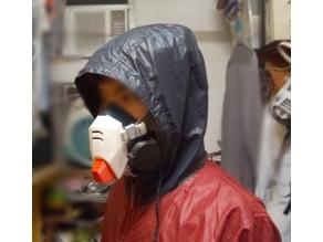 Gundam 6500  respirator mask cover