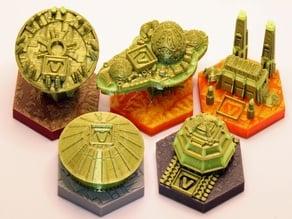 RifRaf Terraforming Mars Venus Next Tiles Full Set