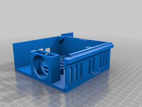 Ender 3 Case SKR 1.1 / 1.3 with Raspberry Pi - MINIMUM SUPPORTS
