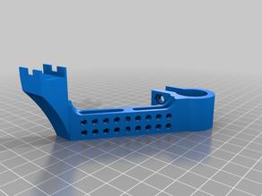 Ender 5 PLUS upgrade heated bed cabel holder
