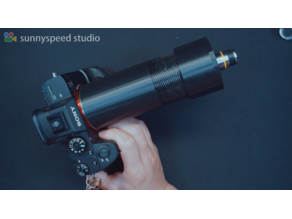Making a microscope with Sony A7R3