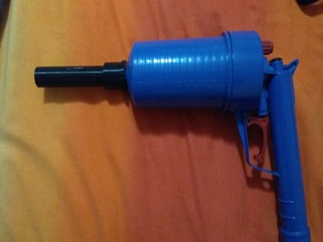 Nerf DrainBlaster Gun