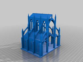 Gothic Cathedral Structure