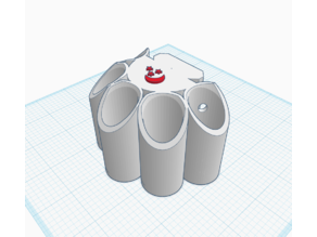 12 Gauge Shotshell Holder (5) for Moonbeam Mounting System
