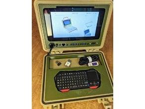 Raspberry Pi Quick Kit Frame (Keyed Power)
