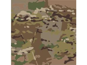 Camouflage Stencil Set