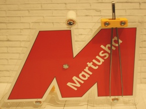Tweezers Holder for main board of Martusha Filament System