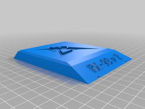 Base for plastic model: High nu gundam