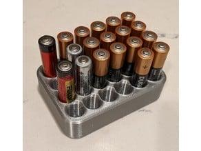 AAA Battery Holder Tray