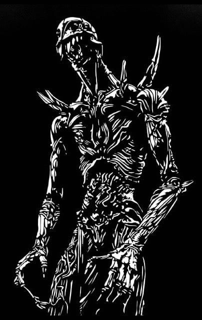 Nausicaä's Giant God stencil