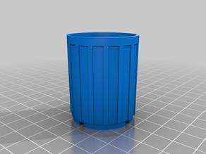 Lego Style Trash Bin